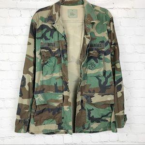 Authentic U.S Marine Corp field jacket